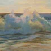 Foaming Ocean Waves Art Print