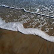 Foamy Water Art Print