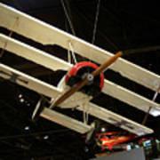 Focker Tri-plane Art Print
