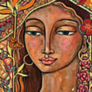 Focusing On Beauty Art Print