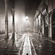 Fog In The Market Art Print