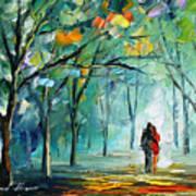 Fog Of Love Art Print