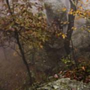 Fog On The Mountain Art Print