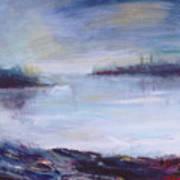Foggy Islands Art Print