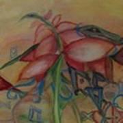 Foliage And Ornaments Art Print