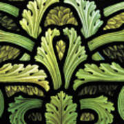 Foliage Pattern Art Print