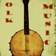 Folk Music Art Print