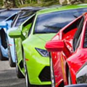 Follow That Lamborghini Art Print