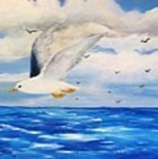 Following Sea Art Print