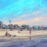 Folly Beach South Carolina Art Print