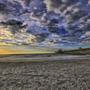 Folly Beach Sunrise Art Print