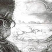 Fomorii Swamp Art Print