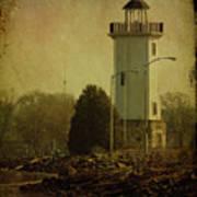 Fond Du Lac Lighthouse Art Print