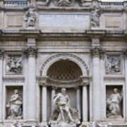 Fontana De Trevi Art Print