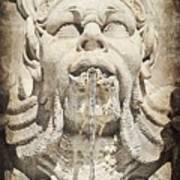 Fontana Del Pantheon 2 Art Print