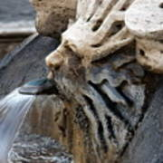 Fontana Della Barcaccia Sun Art Print
