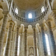 Fontevraud Abbey Chapel, Loire, France Art Print