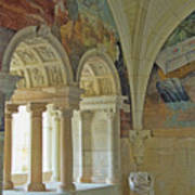 Fontevraud Abbey Refectory, Loire, France Art Print