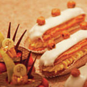 Food - Cake - Little Cakes Art Print