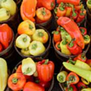 Food - Peppers Art Print by Paul Ward