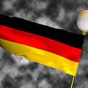 Football World Cup Cheer Series - Germany Art Print