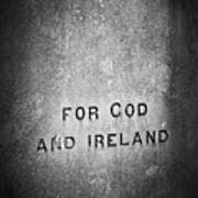 For God And Ireland Macroom Ireland Art Print