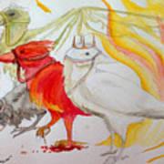 For Ravens Of The Apocalypse Art Print