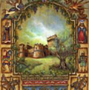 For The Love Of Castles Art Print