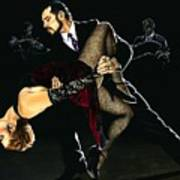 For The Love Of Tango Art Print