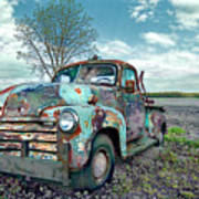 For Whom The Truck Tows Art Print