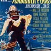 Forbidden Planet, Left Robby The Robot Art Print
