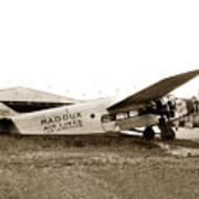 Ford 4-at-a Maddux Air Lines Los Angeles Circa 1928 Art Print