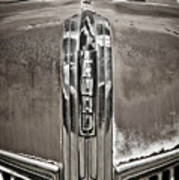 Ford Chrome Grille Art Print
