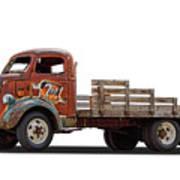 Ford Classic 7 Up Truck Art Print