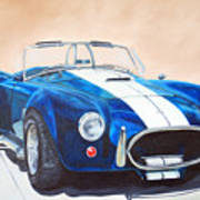 Ford Cobra In Oil Art Print