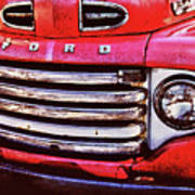 Ford Grille Art Print by Michael Thomas