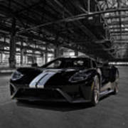 Ford Gt '66 Heritage Edition Art Print