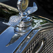 Ford Hood Emblem Art Print
