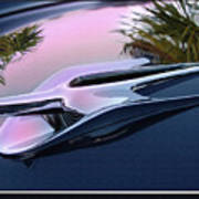 Ford Hood Ornament 56 Art Print