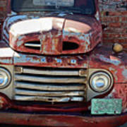Ford In Goodland Art Print
