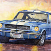 Ford Mustang Gt 350 1966 Art Print