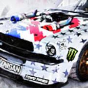 Ford Mustang Hoonicorn - 04 Art Print