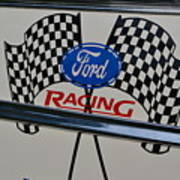 Ford Racing Emblem Art Print