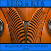 Ford 14 - Relics And Rods Art Print