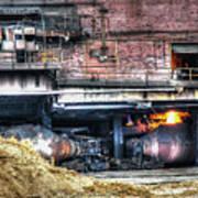 Ford Rouge Plant Steelmill Art Print