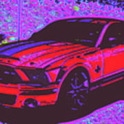 Ford Shelby D4 Art Print