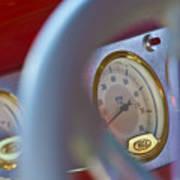 Ford Speedometer Art Print