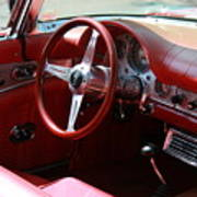 Ford Thunderbird 57 Interior Art Print
