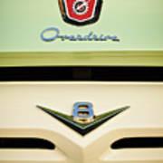 Ford V8 Pickup Emblem Art Print