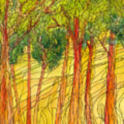 Forest #15 Art Print